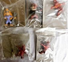 Lot Of 5 Miscellaneous  Alvin & The Chipmunks Plastic Figurines
