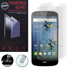 2x Vitres Protection Films Verre Trempe Protecteur Pour Acer Liquid Z530/ Z530S