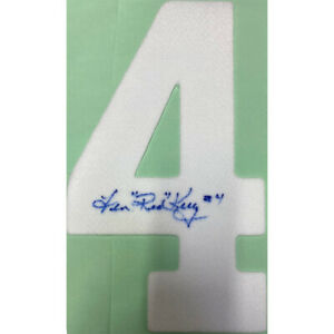 Red Kelly Autographed 2014 Winter Classic Jersey Number - 4