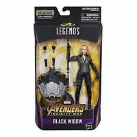 "Marvel Legends Infinite BLACK WIDOW 6"" Figure Cull Obsidian BAF Avengers Endgame"