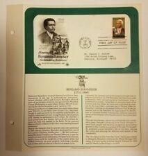 US Postage Stamp 1980-02-15 Benjamin Banneker Annapolis, MD Postmark FDC