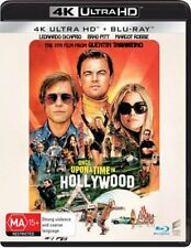 Once Upon a Time in Hollywood 4k Ultra HD Blu Ray BRAND