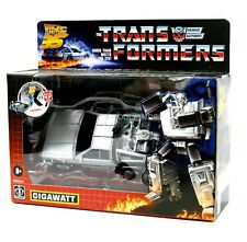 Transformers x Back to the Future Gigawatt 35 Years Transformers Collaboration