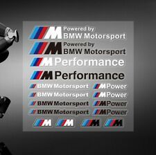 16x BMW M POWER SPORT PERFORMANCE TECH PACK DECAL STICKERS BADGE LOGO M3 M5 M6