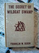 Hardy Boys - The Secret of Wildcat Swamp (Franklin W. Dixon, 1952 HC)