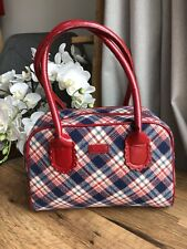 NESS medium tartan handbag / shoulder bag