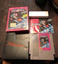 MagMax (Nintendo Entertainment System, 1988). Complete in Box CIB NES