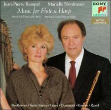 Music for Flute & Harp (CD, Jul-1990, Sony Classical)