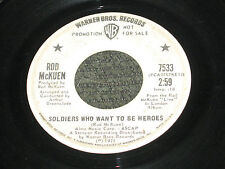 Rod McKuen, Soldiers Who Want To Be Heroes/Hit'em In The Head With Love PROMO