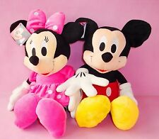 2pc 46cm Disney Mickey & Minnie Mouse Plush Doll Kids Baby Soft Bear Stuffed Toy