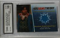 2013 CZE BIG BANG THEORY RAJESH #M4 AUTHENTIC WARDROBE CARD GEM MT 10 BY GMA
