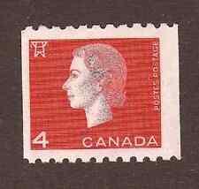 Canada--#408 MNH--Queen Elizabeth II Coil--1963