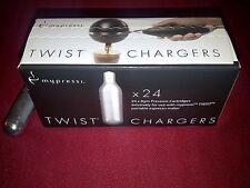 24 MyPressi Twist pressure cartridges 8g N2O Whipped Cream Chargers N20 whip