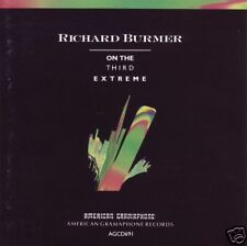 RICHARD BURMER - ON THE THIRD EXTREME CD ~ AMBIENT ELECTRONICA