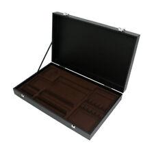 AZ boutique  Coffrets & écrins | Coffret en bois noir pour ménagère 48 ou 50 piè