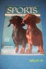 1955 Sports Illustrated DACHSHUNDS Badger Dog GERMAN TERRIER Bill RUSSELL