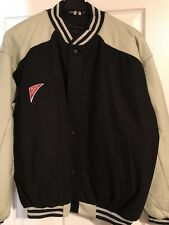 Superbowl XXXIV 2000 Wool & Leather Coat Jacket Atlanta XL