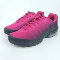 huge discount 3ce2a 33f17 NIKE Youth Air Max Invigor Print GS Mens Sz Multi Shoes Pink Black AH5261  600