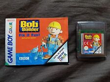 BOB THE BUILDER FIX IT FUN Nintendo Gameboy Color Game