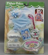 Fisher Price Briarberry Collection Ice Skating new in box 74408 Blue Nrfb Bear