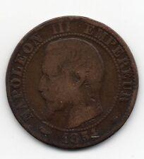 France - Frankrijk - 5 Centime 1854 BB