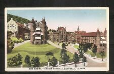Canada.The Royal Victoria Hospital, Montreal .  Not posted postcard