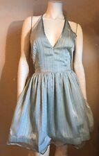 Bebe Lace Back Dress Size 6