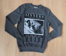 Next Mens Boys Sweatshirt Jumper XS Lady Lingerie BNWT New £25 Sinners Casual