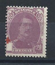 Belgique N°131* (MH) Croix décalé 1914/15 - Croix rouge