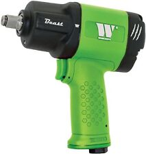 """THE BEAST from WELZH WERKZEUG (GREEN) 1/2"""" AIR IMPACT WRENCH 1982Nm of TORQUE"""