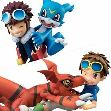 G.E.M. Digimon Adventure 02 Daisuke & Buimon / Tamers Guilmon & Takato set Japan