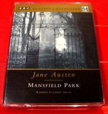 Jane Austen Mansfield Park BBC 2-Tape Audio Drama Hannah Gordon/Michael Williams