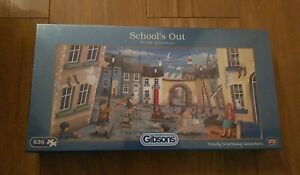 Gibsons 636 Piece Jigsaw  Puzzle 'SCHOOL'S OUT' New & Sealed