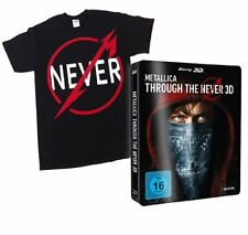 Metallica: Through the Never 3D+Blu-ray+t-shirt XL New & Factory Sealed
