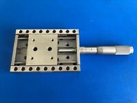 NEWPORT UMR8.51 Linear Stage w/ Double-Row Bearings + BM17.51 Micrometer