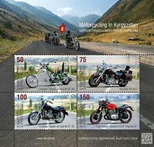 KYRGYZSTAN (KEP)/2019 - (MINISHEET) Motorcycles (Chopper),  MNH