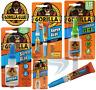 Gorilla Super Glue 3g / 2 x 3g / 15g / 15g Gel / 12g Brush & Nozzle Strong Fast