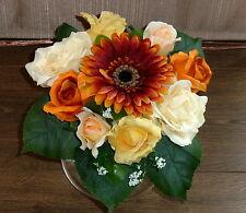 Rosenstrauß / Frühlingsstrauß 02 Seidenblumen - Blumenstrauß bunt