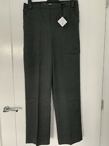 2PK Very Boys Grey School Trousers 11-12 Years