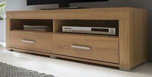Lowboard Kernbuche TV-Schrank TV-Lowboard Fernsehschrank Kernbuche - (3503)