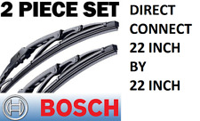 BOSCH Windshield Wiper Blade-Direct Connect BOSCH 40522 Set of 2-(PAIR) 22 inch