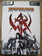 Warhammer Online Age of Reckoning for PC DVD compatible