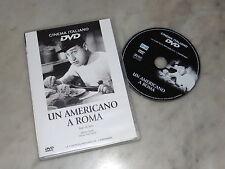Un americano a Roma - Alberto Sordi (DVD; 1954) *EDICOLA / BUONO*.