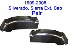 2000-07 CHEVY SILVERADO SIERRA 4DR EXT. CAB  LEFT & RIGHT CAB CORNER!  PAIR!!