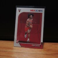 2019-20 Coby White Rookie Card Panini NBA Hoops RC Chicago Bulls