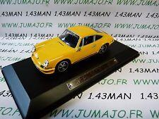 AK3 voiture 1/43 ixo atlas Auto Klassiker : PORSCHE 911 jaune orange