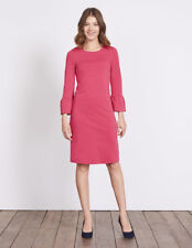 Boden Lavinia Ponte Dress Rose Size UK 14r Dh172 DD 08