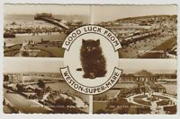 Somerset postcard - Good Luck from Weston Super Mare (Multiview showing 4 views)