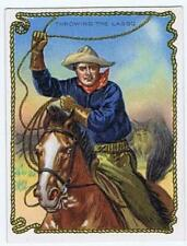 Hassan Cigarettes Cowboy Series T53 Throwing the Lasso high grade 334