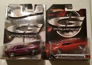 Hot Wheels G Machines 2006 Dodge Challenger Concept & 1971 Challenger